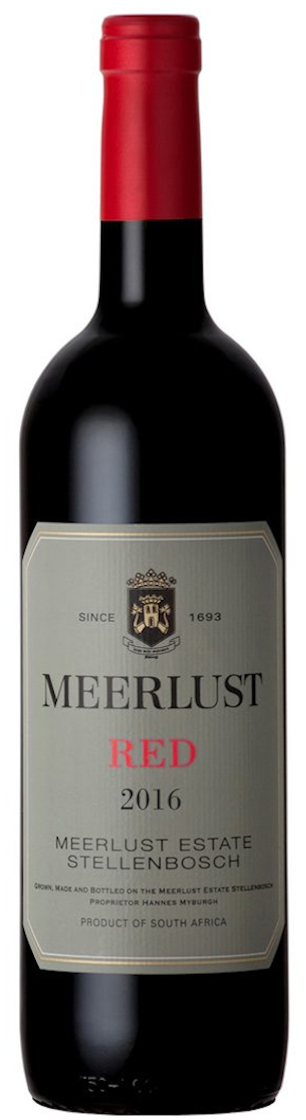 Meerlust Estate Red 2016 — Meerlust Estate