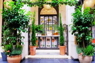 Domaines Ott* Launches Garden Terrace with Corinthia London