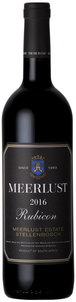 Meerlust 'Rubicon' 2016 — Meerlust Estate