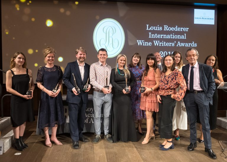 The Louis Roederer International Wine Writers' Awards 2019 Winners Announced!
