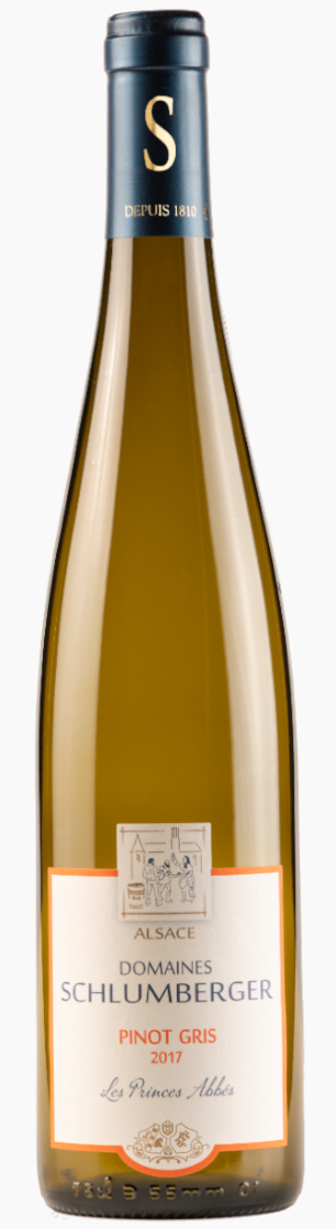 Domaines Schlumberger Pinot Gris 'Les Princes Abbes' 2017 — Domaines Schlumberger