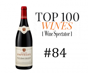 The Faiveley Nuits-Saint-Georges 2016 was ranked #84 in the Wine Spectator's Top 100!